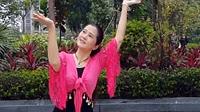 曾惠林广场舞《梅花泪》最新原创 古典舞 形体舞 民族舞