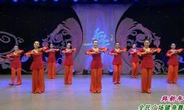 廊坊星月舞蹈队《拜新年》原创团队正背面教学演示