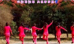 素颜翩翩广场舞《羊羊得意》原创舞蹈 团队演示