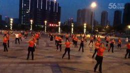 俏木蘭廣場舞《感到幸福你就拍拍手》原創舞蹈 團隊演示