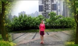 重庆葉子广场舞《暖春》原创舞蹈 附背面口令分解教学演示