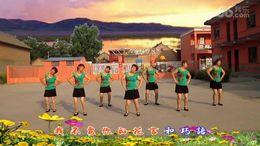 山西曲沃高陽廣場舞《求求你給點力》編舞心隨 團隊演示