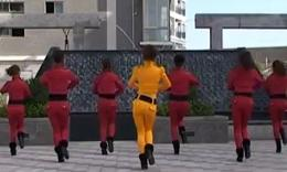 杨丽萍广场舞《拜新年》最新原创舞蹈 正背面教学演示