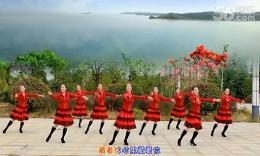 江西鄱阳春英舞蹈《心里藏着你》 (正面)