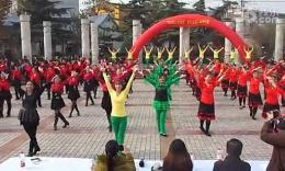 """2014年11月5日邯郸市峰峰矿区""""唱响核心价值观""""广场舞比赛"""