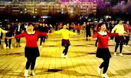 珲春金达莱广场舞《映山红》