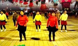 琿春金達萊廣場舞《我愛廣場舞》編舞:春英