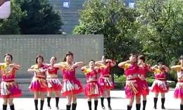 溫州張林冰健身舞《中國味道》正背面演出變換隊形